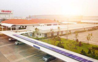 โครงการติดตั้งระบบพลังงานแสงอาทิตย์ บนหลังคาอาคาร