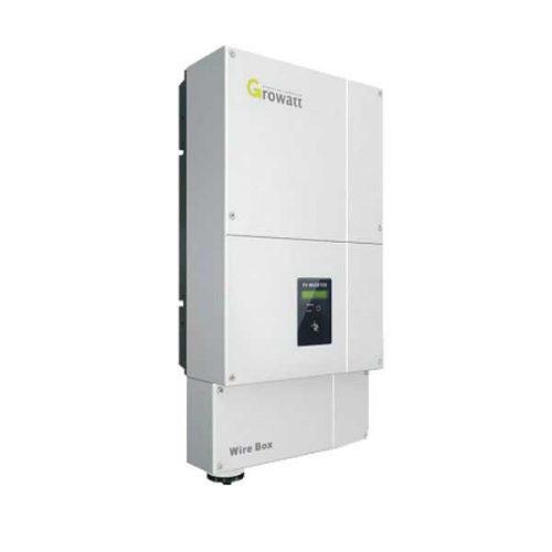 กริดอินเวอร์เตอร์ โซล่าเซลเชื่อมต่อการไฟฟ้า Growatt 5000Watt