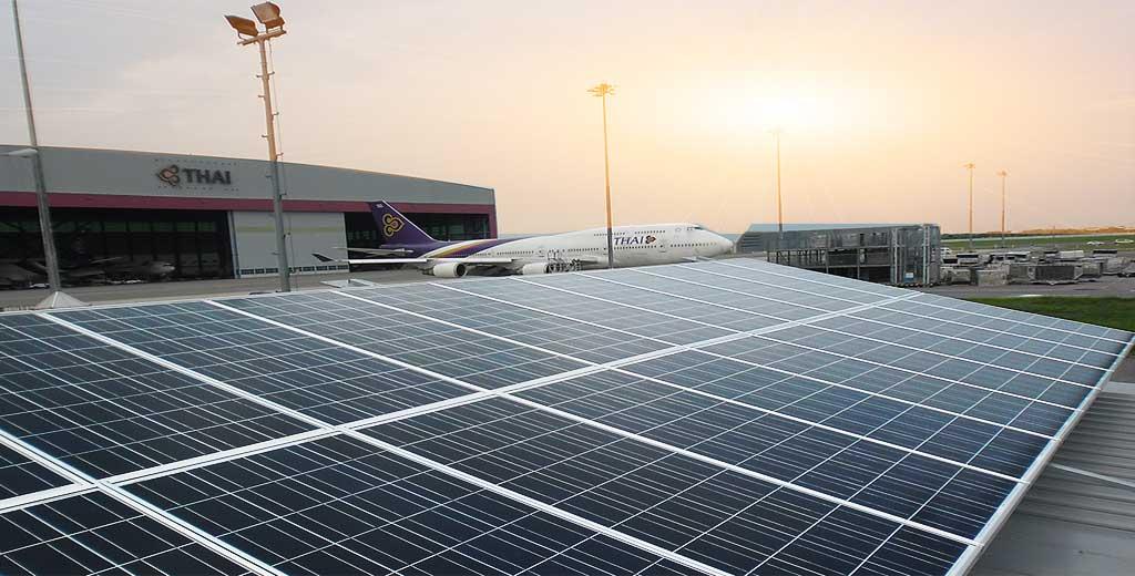 ระบบ Solarcell แบบ Ongrid ใช้แผงโซล่าเซลแบบ Poly Seraphim Solar ขนาด 330วัตต์ กริดอินเวอร์เตอร์ ABB 20KW ติดตั้งบนหลังคาอาคาร