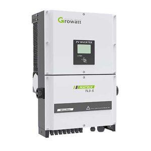 กริดอินเวอร์เตอร์ โซล่าเซลเชื่อมต่อการไฟฟ้า Growatt 40000Watt