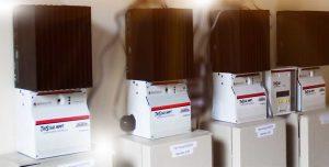 ระบบโซล่าเซลล์ ชาร์จแบตเตอรี่ ขนาด 12กิโลวัตต์ ใช้แผงโซล่าเซล Canadian Solar แบบโพลี ใช้เครื่องชาร์จ Morningstars MPPT