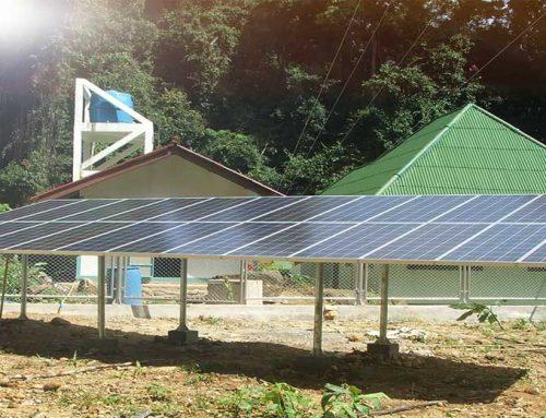 ระบบพลังงานแสงอาทิตย์ แบบ Offgrid ติดตั้งหน่วยป่าไม้