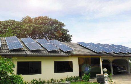 ระบบโซล่าเซลล์ ชาร์จแบตเตอรี่ Offgrid 12กิโลวัตต์ ติดตั้งบ้านพักอาศัย ใช้แผงโซล่าเซลล์ Canadian Solar และเครื่องชาร์จ Morningstar