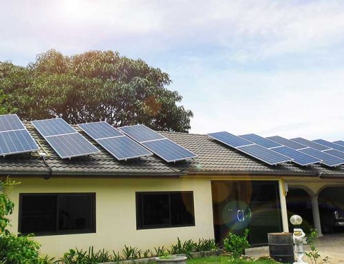 ระบบโซล่าเซลชาร์จแบตเตอรี่ Offgrid 12KW บ้านพักอาศัย