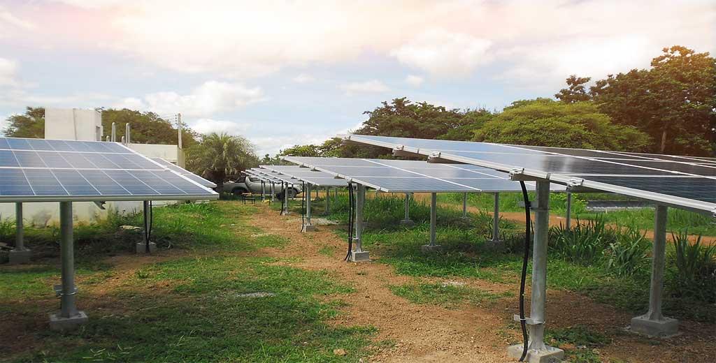 ระบบพลังงานแสงอาทิตย์แบบต่อเชื่อมการไฟฟ้าขนาด 24 กิโลวัตต์ ติดตั้งจังหวัดราชบุรี