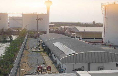 ระบบโซล่าเซลล์ ON GRID เชื่อมต่อสายส่งการไฟฟ้า ติดตั้งบริษัท บริการเชื้อเพลิงการบินกรุงเทพ จำกัด(มหาชน)