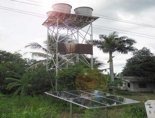 ระบบสูบน้ำพลังงานแสงอาทิตย์ ขนาด 2KW สำหรับระบบประปาหมู่บ้าน