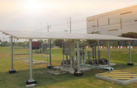 ระบบสูบน้ำพลังงานแสงอาทิตย์ ขนาด 3KW