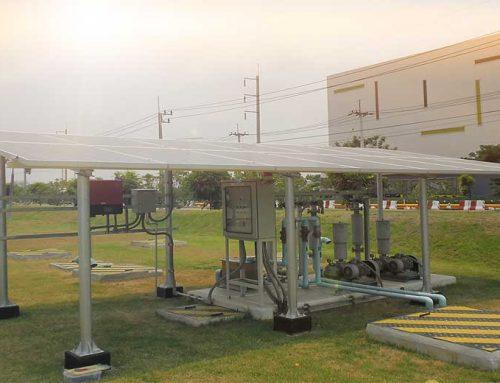 ระบบสูบน้ำพลังงานแสงอาทิตย์ 3KW