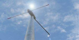 ติดตั้งกังหันลม Windturbine 200วัตต์ ชาร์จแบตเตอรี่
