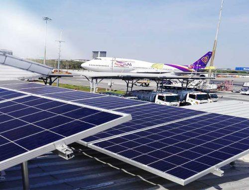 ระบบโซล่าเซลบริษัทไทยเชื้อเพลิงการบิน2