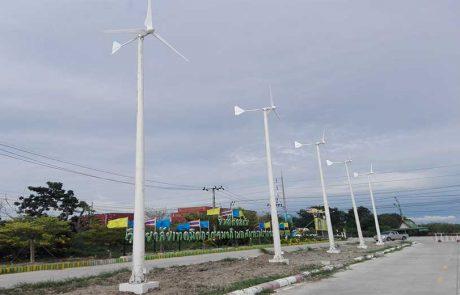 กังหันลมผลิตไฟฟ้า Windturbine