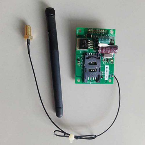 บอร์ด GPRS ดูการทำงาน Solarpump ผ่านมือถือ